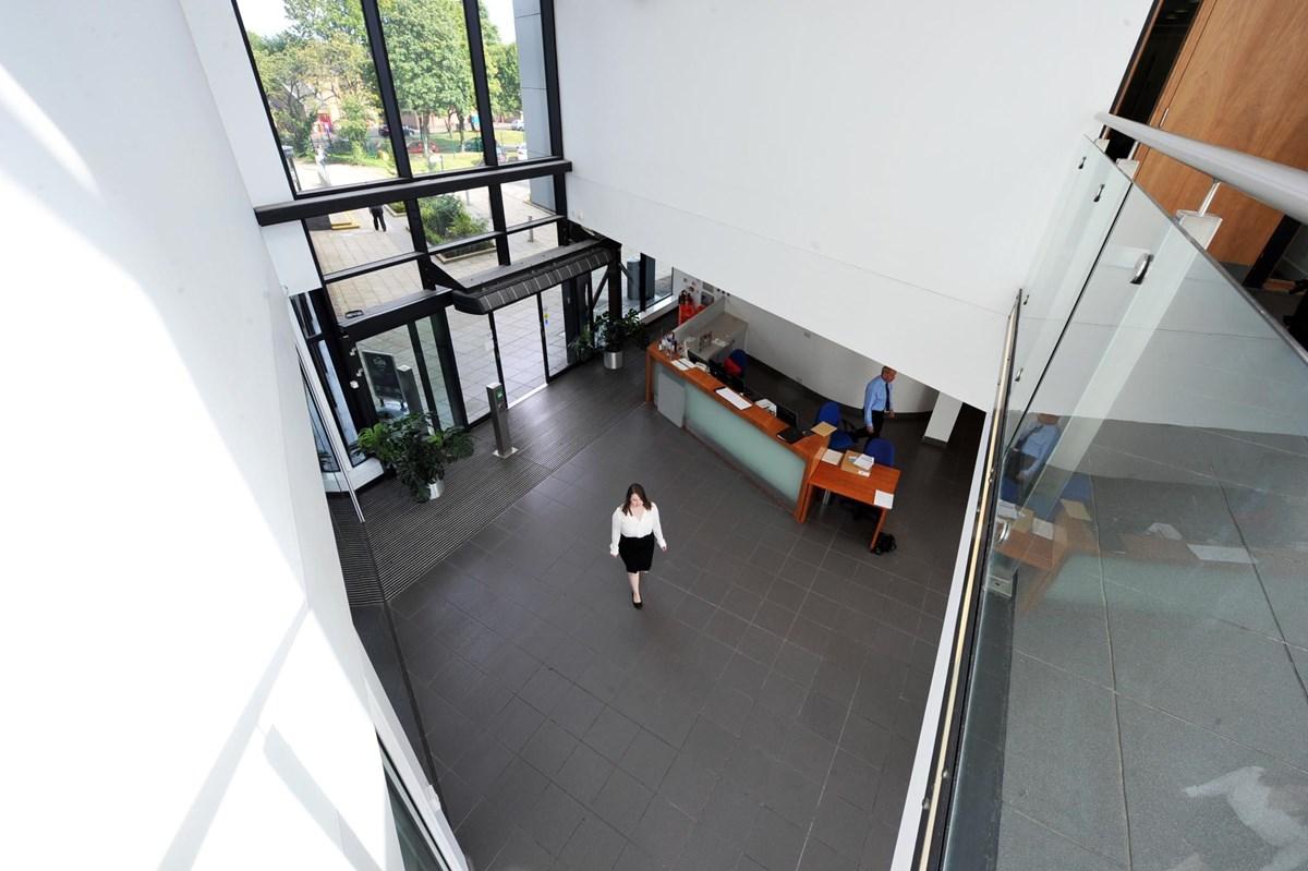 Dalziel Building Interior